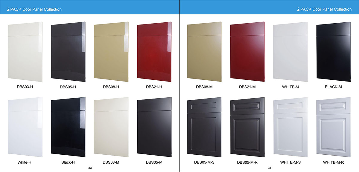 2 PACK Door Panel Collection