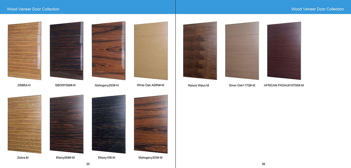 Wood Veneer Door Collection