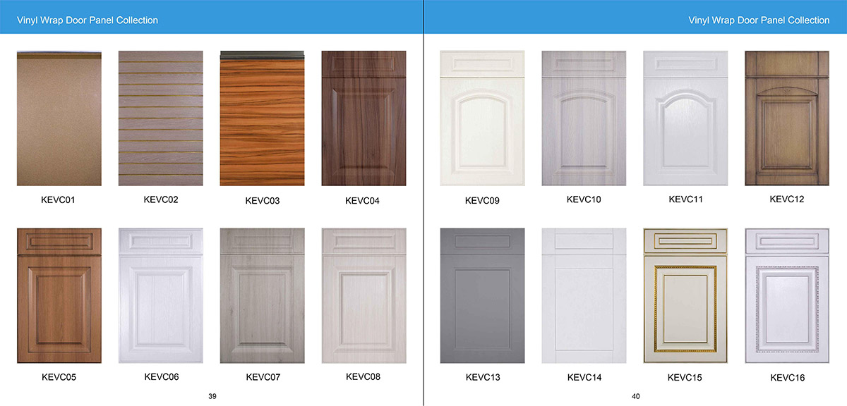 Vinyl Wrap Door Panel Collection