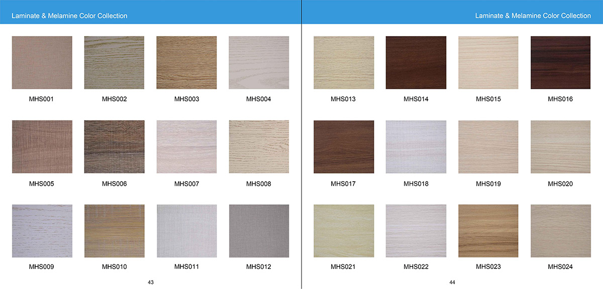 Laminate & Melamine Color Collection